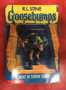 Goosebumps R. L. Stine A night in terror tower Issue 27