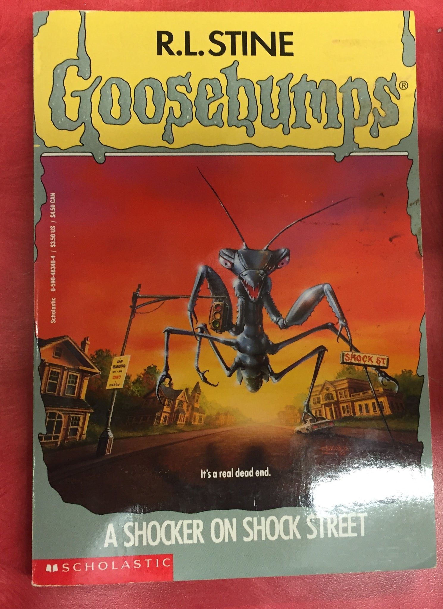 Goosebumps R. L. Stine A shocker on shock street Issue 35