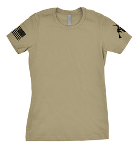 Women's Trench Monkey Simple Tee