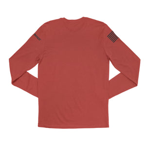 R.E.D Remember Everyone Deployed Simple Long Sleeve Tee