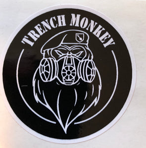 Trench Monkey Decal