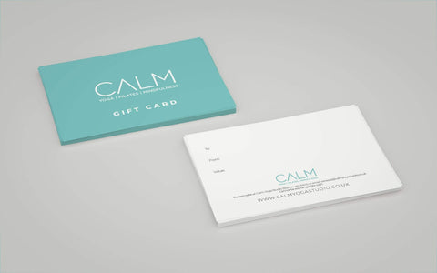 Gift Card (use in studio only) - Calm Yoga