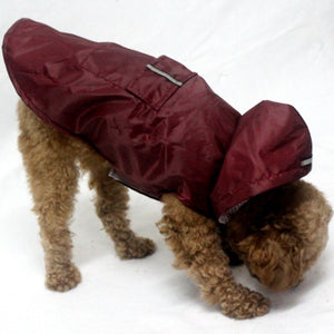 Hooded Raincoat for Dogs