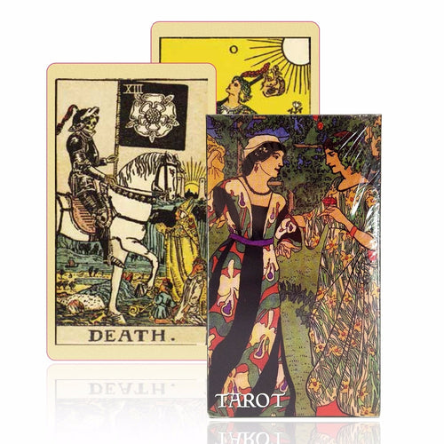 Old-Fashioned English Tarot Cards