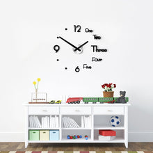 Decorative Wall Clock - Easy Installation!