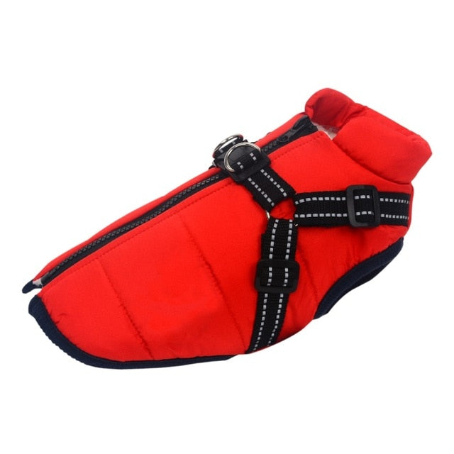 Insulated Winter Harness for Small to Medium Dogs