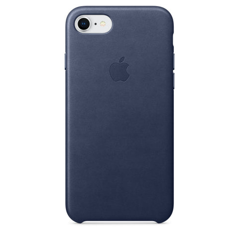 iPhone 8 / 7 Leather Case - Navy