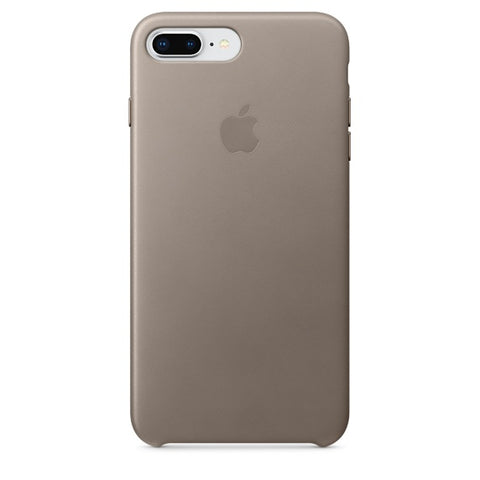 iPhone 8 Plus / 7 Plus Leather Case - Taupe