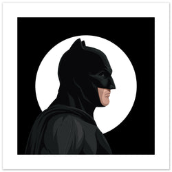 Batman (Affleck) Art Print