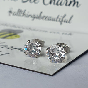 Cubic Zircon Earrings 0504