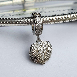 Angel Heart Charm 0379