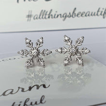 Snowflake Earrings 0424