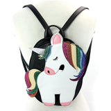 Glittery Unicorn Medium Backpack Purse