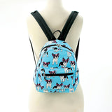 Boston Terrier In Glasses Mini Backpack
