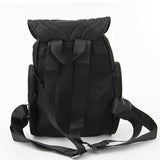 Black Owl Backpack