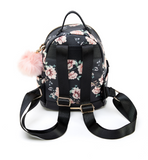 Leela Mini Backpack Purse Black