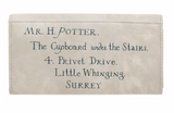Harry Potter's Letter to Hogwarts Wallet