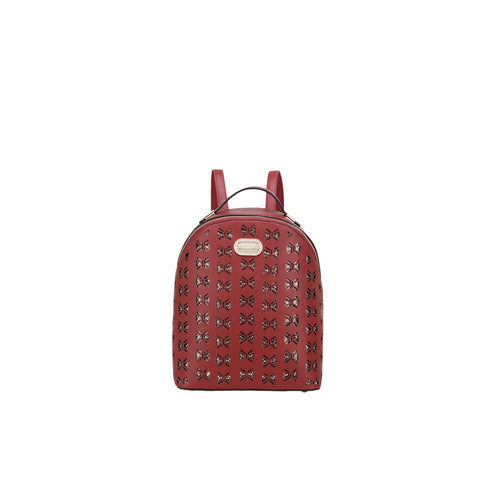 Ellie Crystal Backpack Purse Red