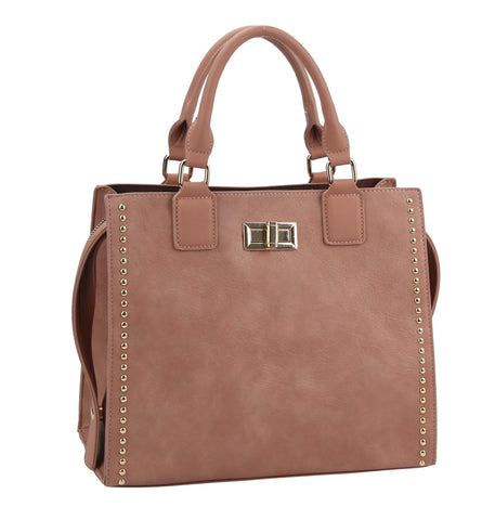 Berna Medium Handbag Mauve