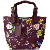 Maranda Two For One Tote Purse Maroon