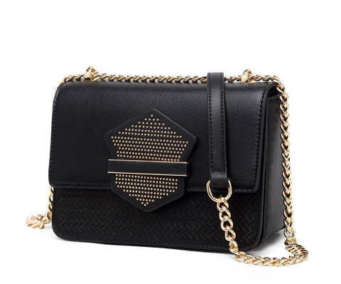 Chic Lover Small Cross Body Handbag Black