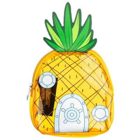Spongebob Clear PVC Pineapple Coin Purse