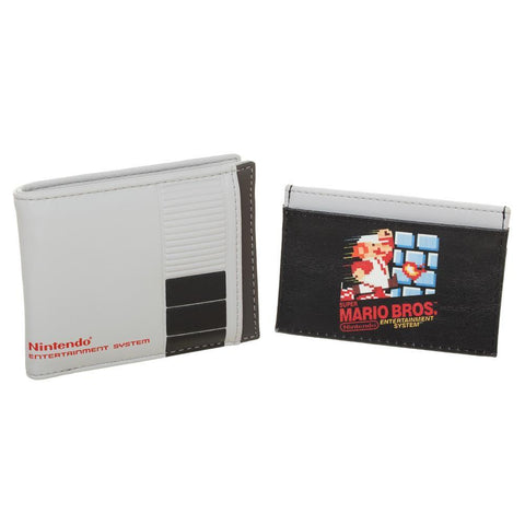 Nintendo 2 in 1 Bi-fold With Mario Bros. Cartride Card Holder