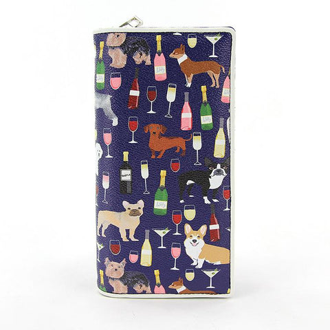 Dogs And Wine Wallet