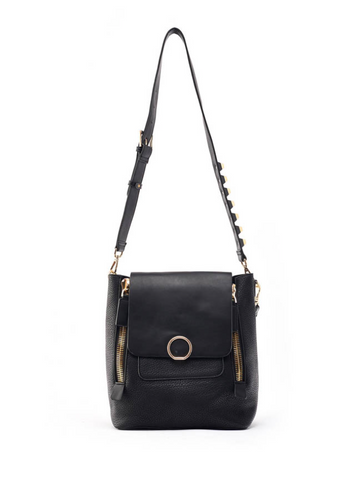 Zora Shoulder Handbag Black