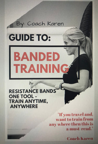 Bundle - Bands &  Downloadable DIY Program - Banded Training Ebook