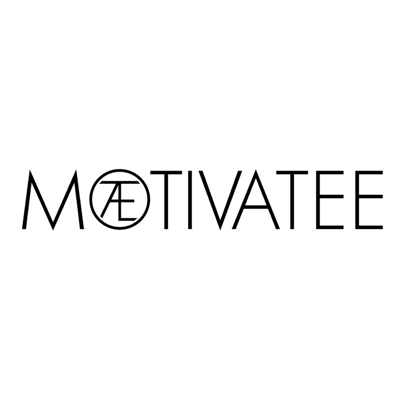 MOTIVATEE Logo Recycled Polyester Classic Tee
