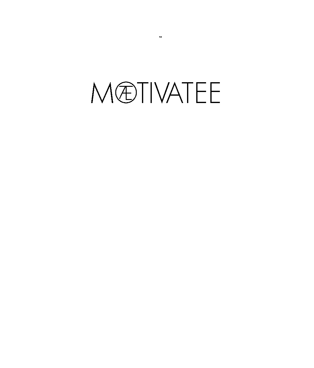 MOTIVATEE Logo Recycled Polyester Classic Tee - MOTIVATEE