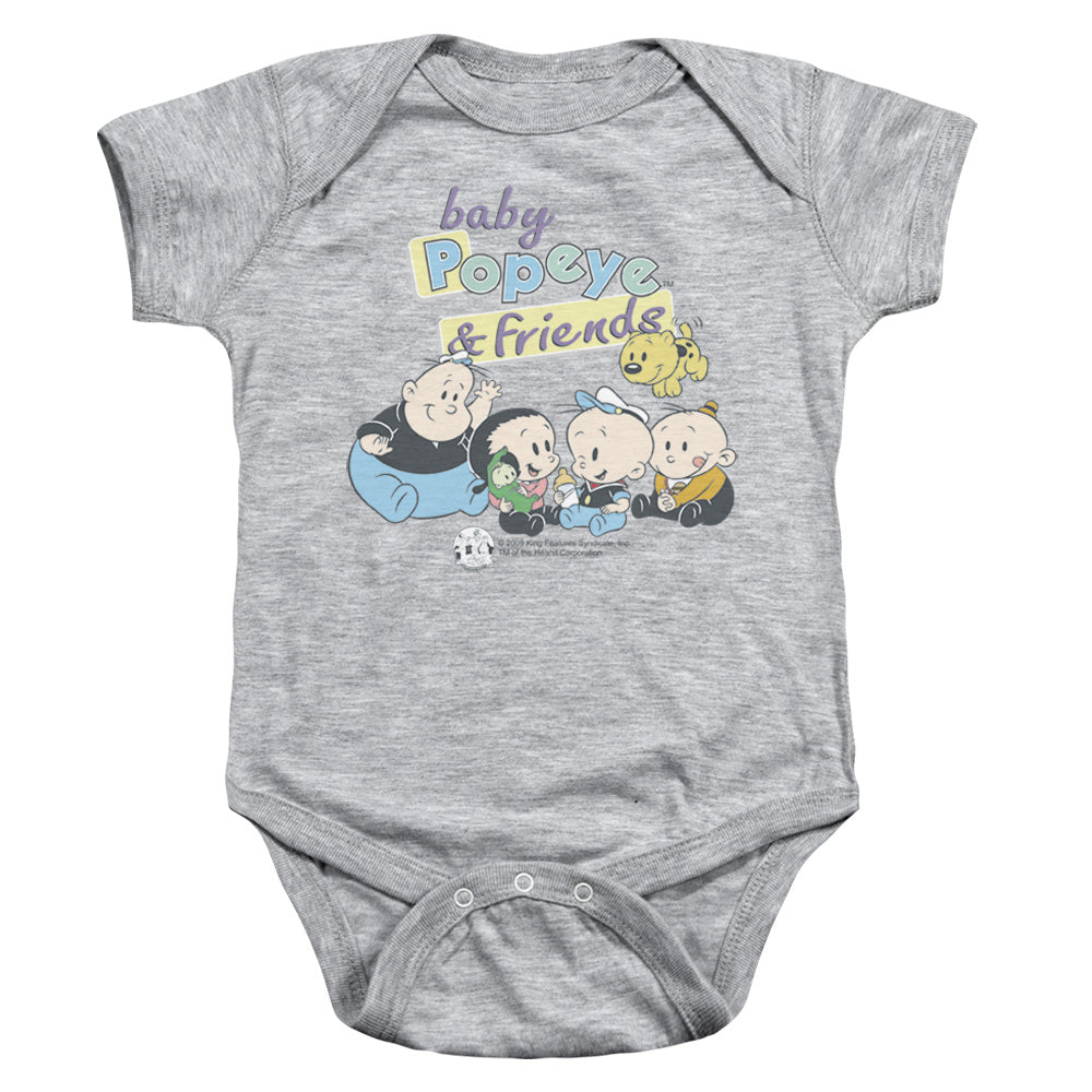 Popeye - Baby Popeye & Friends Infant Snapsuit