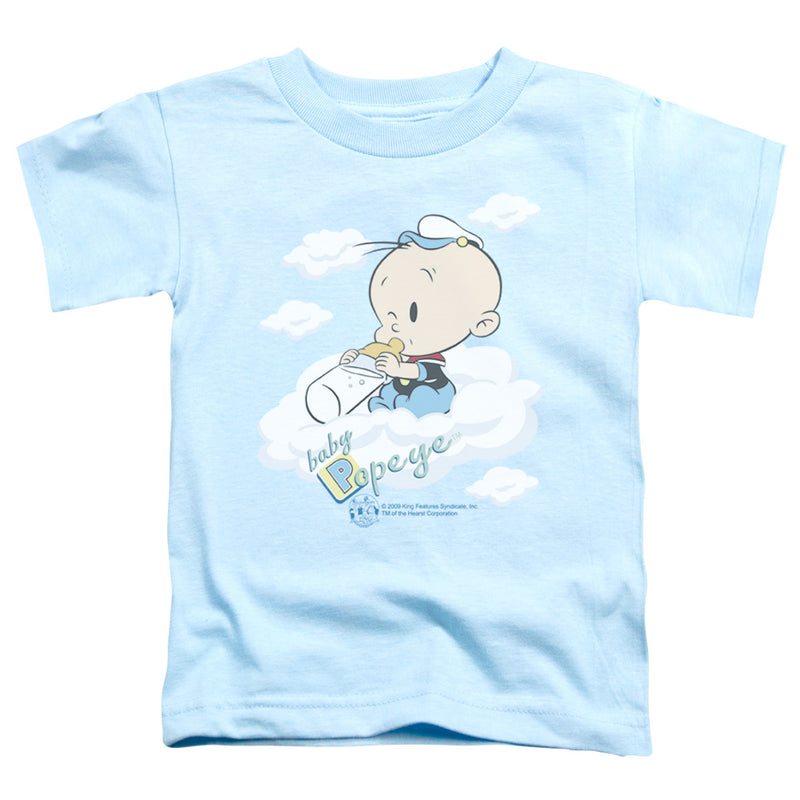 Popeye - Baby Clouds Short Sleeve Toddler Tee