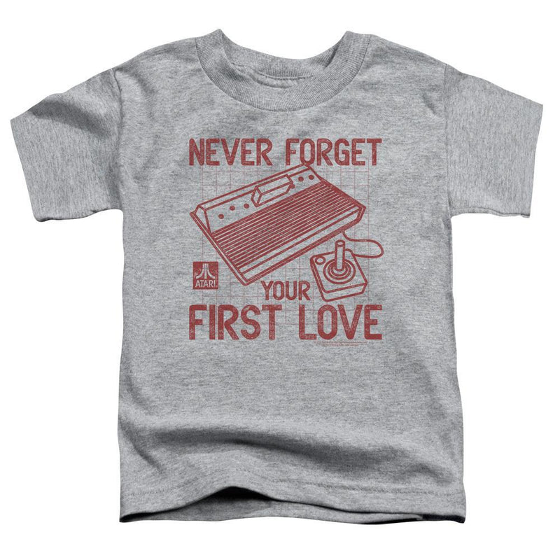 ApparelPop! Short Sleeve Toddler Tee Atari - First Love Short Sleeve Toddler Tee