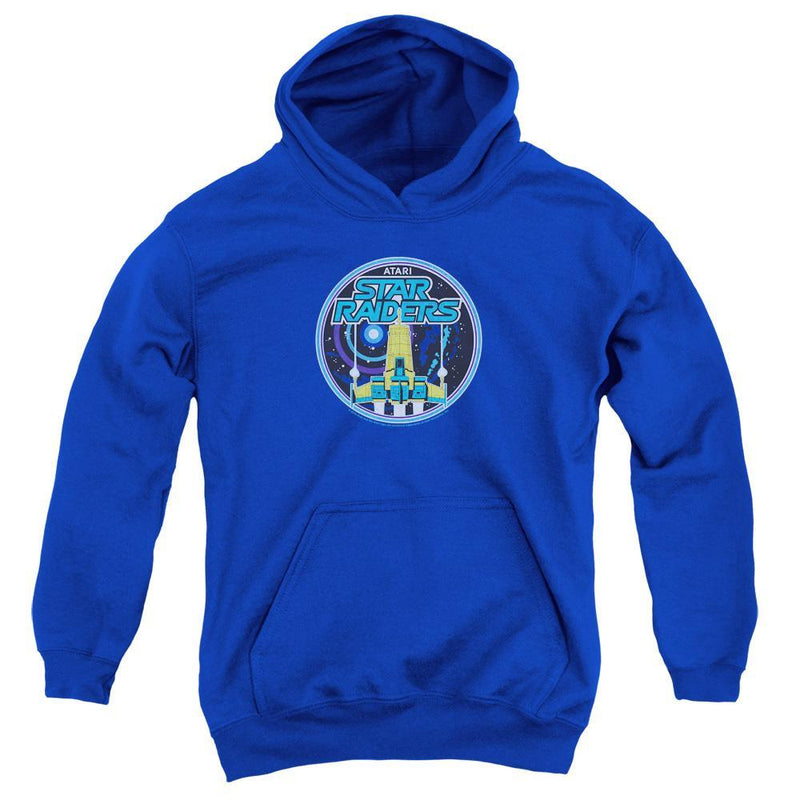 ApparelPop! Youth Pull Over Hoodie Atari - Badge Youth Pull Over Hoodie