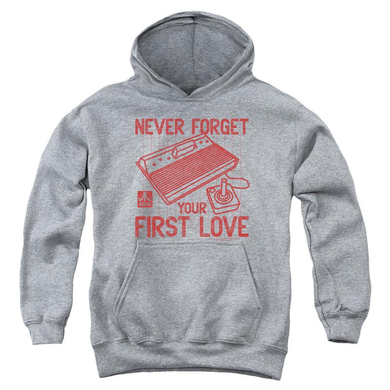 ApparelPop! Youth Pull Over Hoodie Atari - First Love Youth Pull Over Hoodie