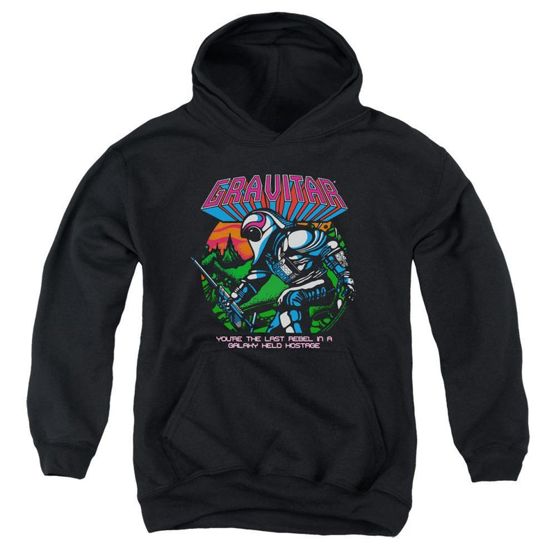 ApparelPop! Youth Pull Over Hoodie Atari - Last Rebel Youth Pull Over Hoodie