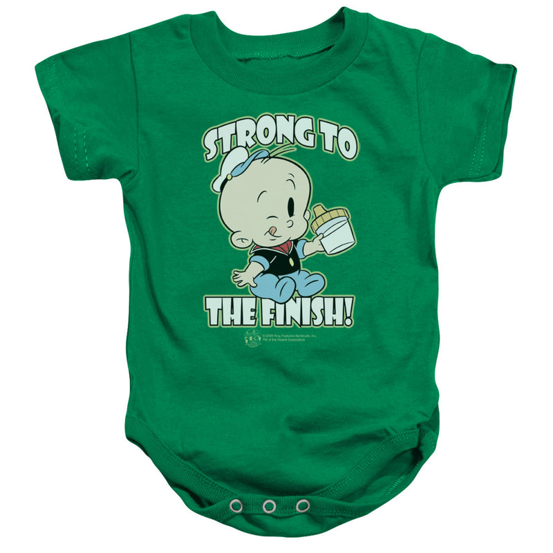 Popeye - Strong To The Finish Infant Snapsuit