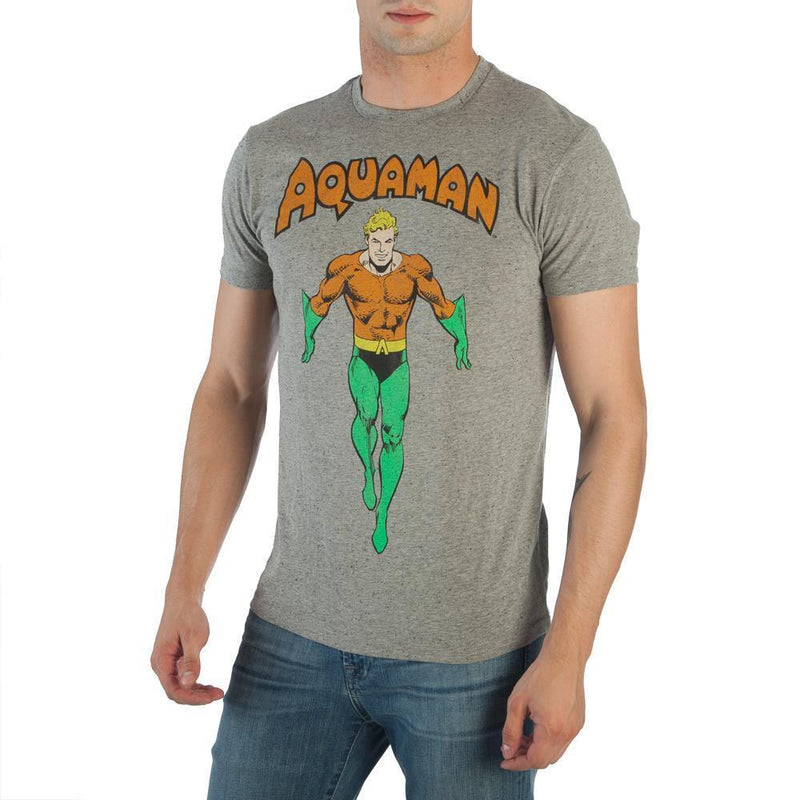 dtg DC Comics Aquaman Shirt T-Shirt - Justice League