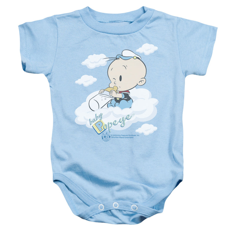 Popeye - Baby Clouds Infant Snapsuit