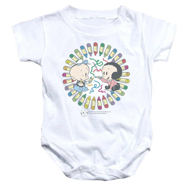 Popeye - Fun With Crayons Infant Snapsuit