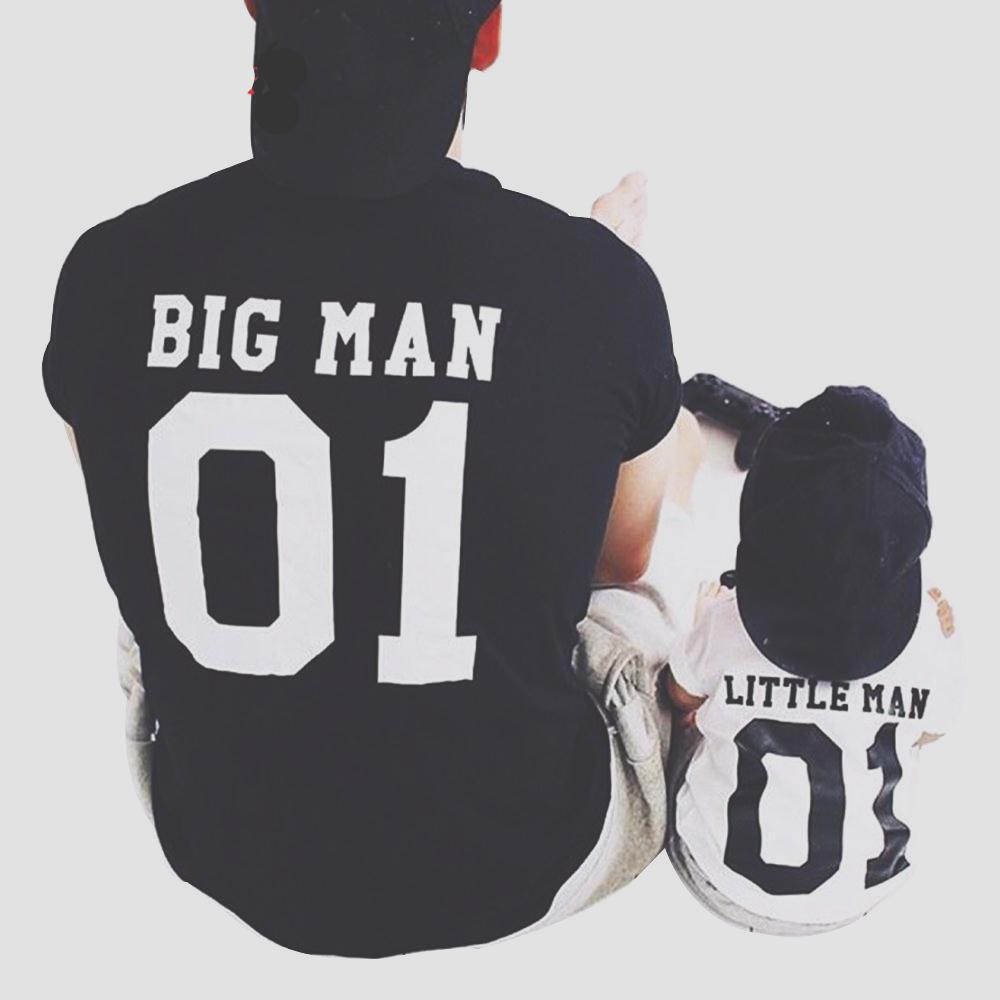 Jubilee Harvest Big Man & Little Man Father Son Matching Tees