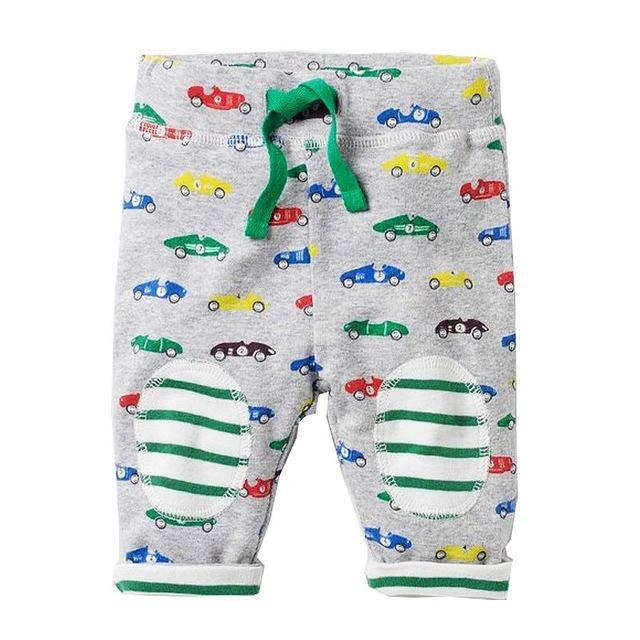 Jubilee Harvest Cars / 24M Kids Fun Pattern Cotton Pants