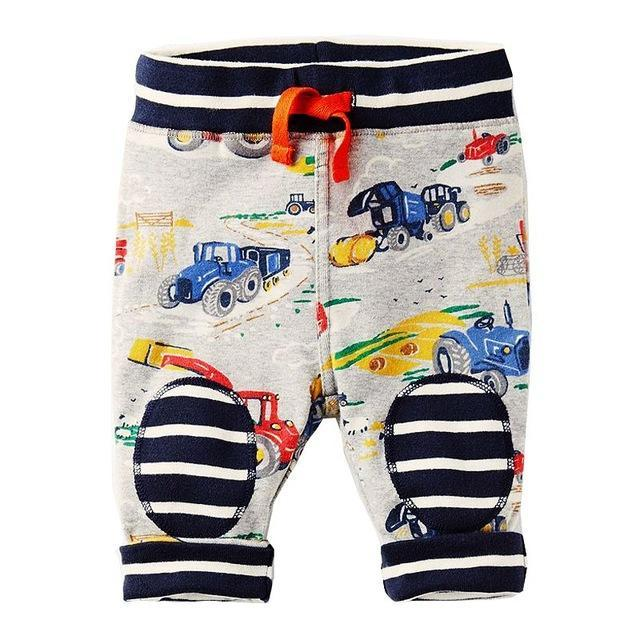 Jubilee Harvest Plane / 24M Kids Fun Pattern Cotton Pants