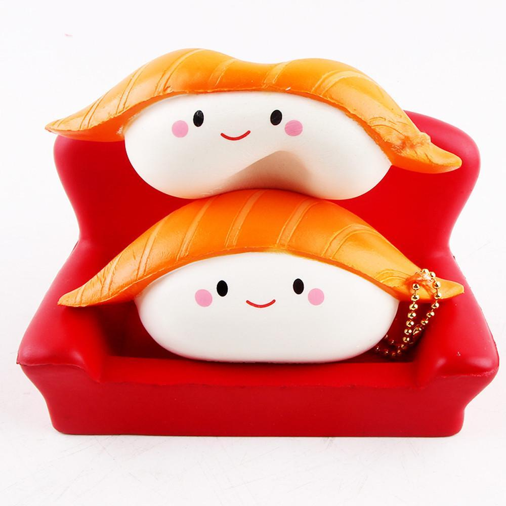Jubilee Harvest Squishy Sushi Squishy-Scented Stress Relief Tool Slow Rising