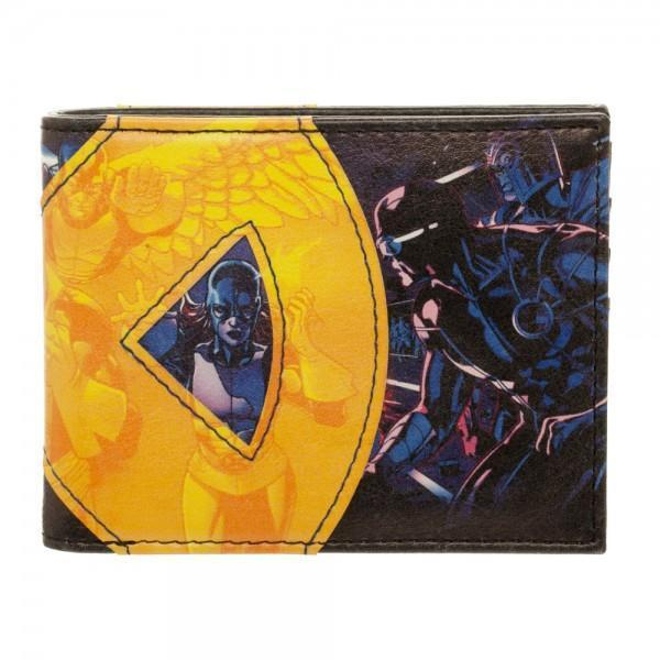 [Low stock products] X-Men Fabric Applique Bi-Fold Wallet