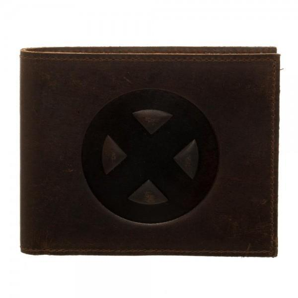 [Low stock products] X-Men Leather Bi-Fold Wallet