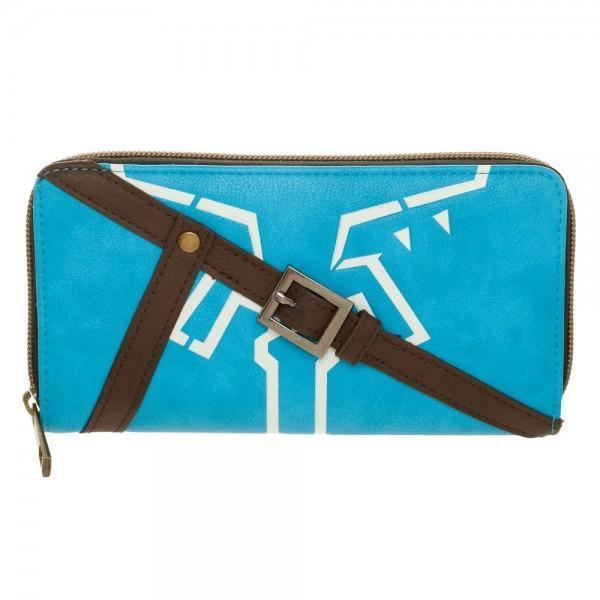 [Low stock products] Zelda Breath Of The Wild Jrs. Zip Around Wallet