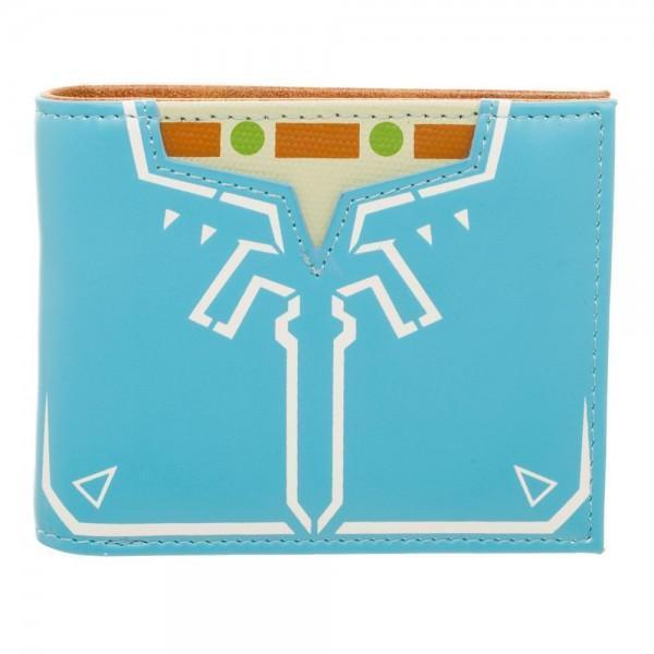 [Low stock products] Zelda Breath Of The Wild Leather Bi-Fold Wallet